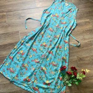Vintage April Cornell Floral Dress!
